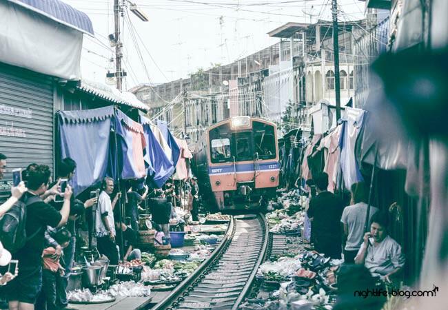 Zugmarkt Thailand