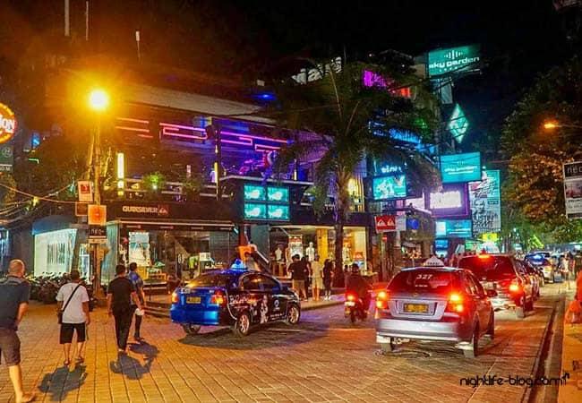 Nachtleben Bali Kuta Beach