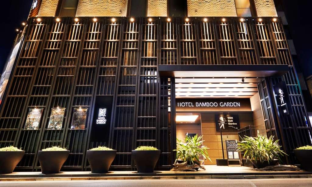 錦糸町のラブホテルHOTEL BAMBOO GARDENの外観