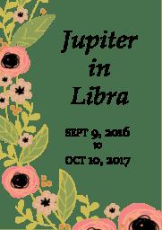 jupiter in libra - 1 year