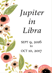 jupiter in libra - 1 year