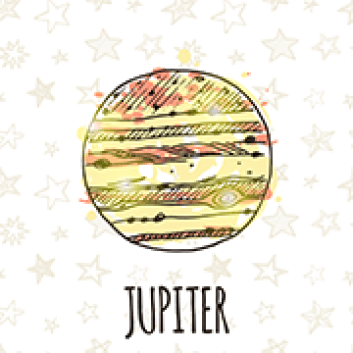 jupiter w: stars