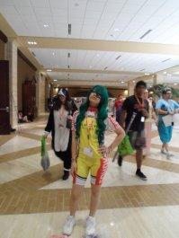 Makishima (YowaPeda) cosplayer.