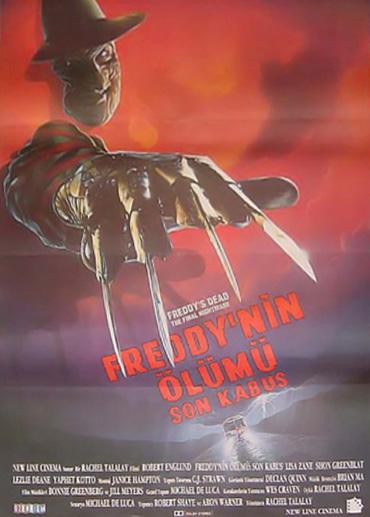 Freddys Dead The Final Nightmare Movie Posters Nightmare On Elm Street Companion