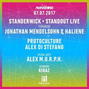 Standerwick, Protocullture, Alex Di Stefano, Alex Morph at Exchange LA