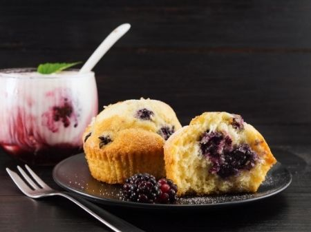 blueberry muffin and parfait 450 337