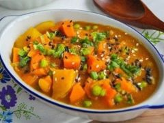 vegan japanese yam curry