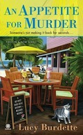 Book Cover - An Appetite for Murder