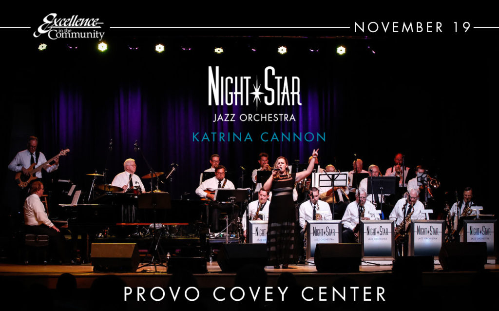 Night Star Jazz Orchestra Covey Center Nov. 19