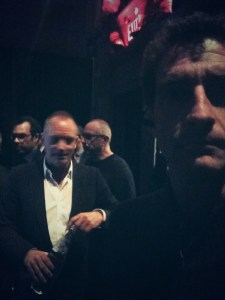 photo bombed by Sting