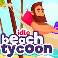 Idle Beach Tycoon Cash Manager Simulator mod apk