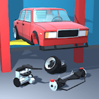 Retro Garage - Car Mechanic Simulator mod apk