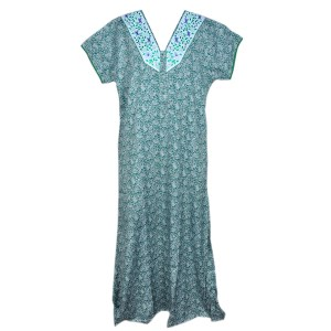 green colour nighty dress all sizes online