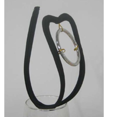 BLACK RING C STRING
