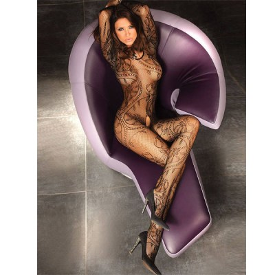 Black Full Bodystocking