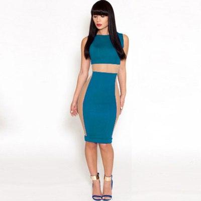 Bodycon Dress C Green