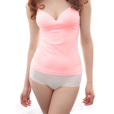 CAMISOLE WITH PADDED BRA 7625-4
