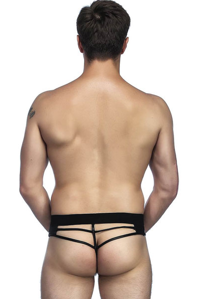 Tight Leather Men Panty