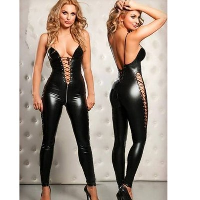 Two-Way Zipper Catsuit