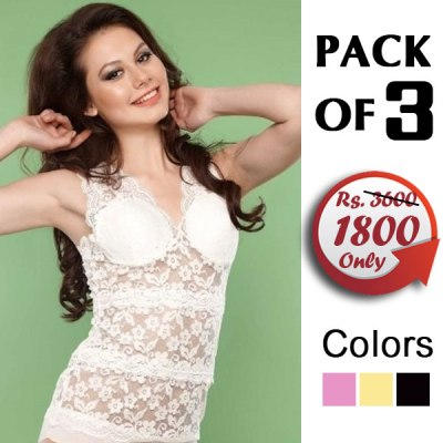 Pack Of 3 Camisole