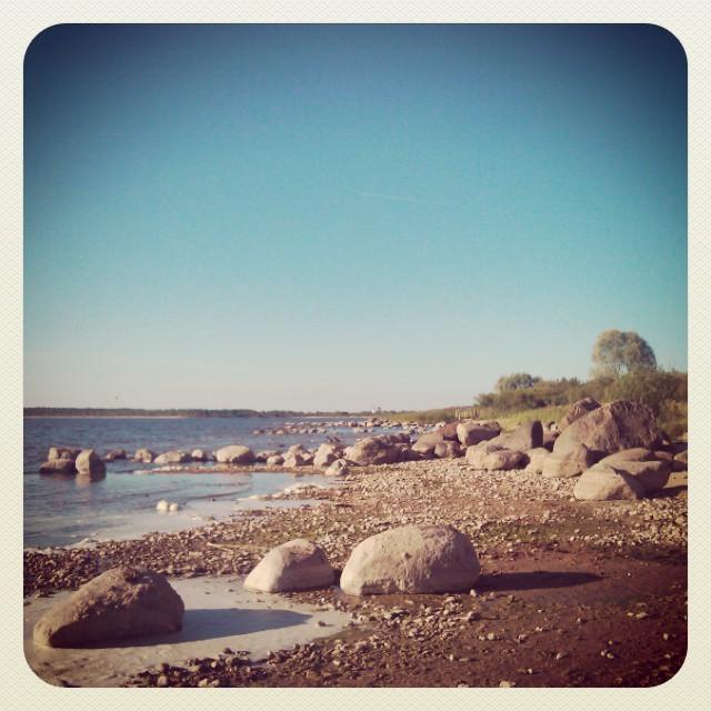 На озере Чудском