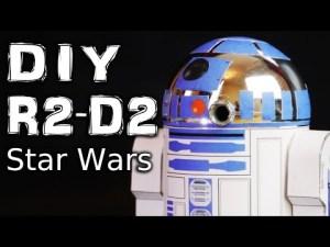 Как самому сделать робота R2-D2 из «Звездных войн»