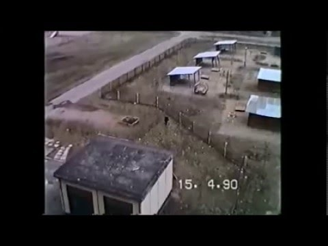 Видео из прошлого. Ленинград, 1990 г