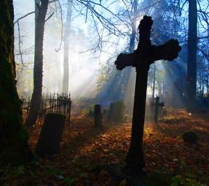 Когда появились фото над могилами?