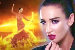 О видео, где Ольга Бузова танцует типа топлес… и само видео