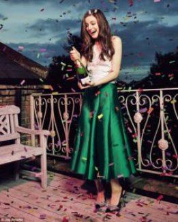 Agnes Towler役アシュリング・ロフタス 典拠: Daily Mail