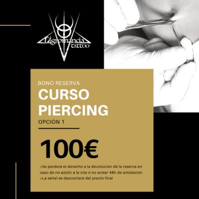 curso piercing (opción 1) - nigromancia - tatuajes en valencia