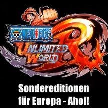 Zwei Sonder-Editionen zu One Piece Unlimited World Red