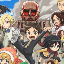 Attack on Titan: Junior High – Spinoff Manga bekommt Anime-Adaption
