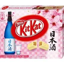 Japan hat jetzt Kit Kat mit Sake Geschmack