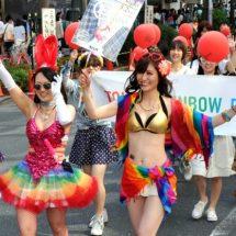 Tokyo Rainbow Pride-Parade zieht tausende von Besucher an!