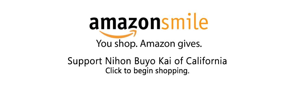 Shop amazon smile for Nihon Buyo Kai of California