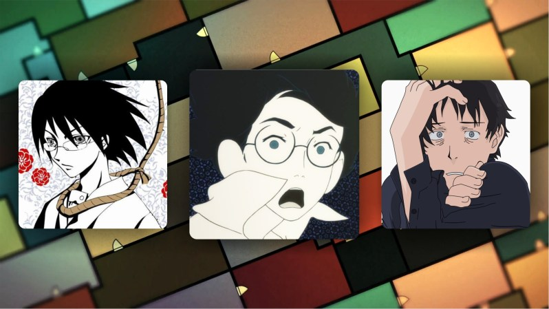 Tatami Galaxy can be compared to Sayonara Zetsubo Sensei and Welcome to the N.H.K.