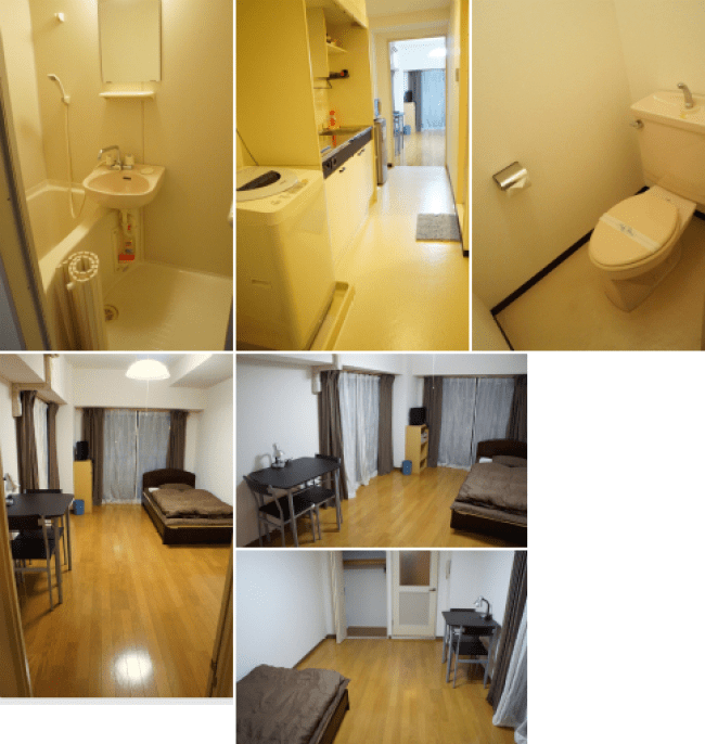 Accommodations - Apartment example 6