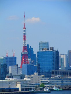 Tokyo tower, the original broadcasting tower