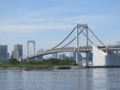 View from Odaiba side