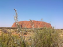 Uluru - Ayers Rock, an extremely spiritual place for the Aboriginal People