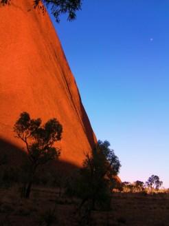 Uluru - Ayers Rock We walked right around the base.