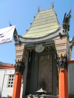 The Chinese Theatre on the Walk of Fame
