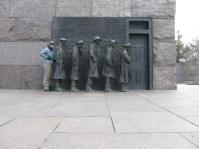 Part of the Roosevelt Memorial