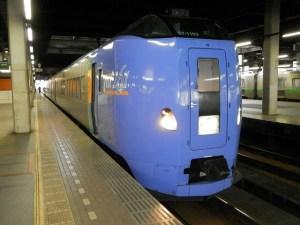 スーパーとかち・札幌駅