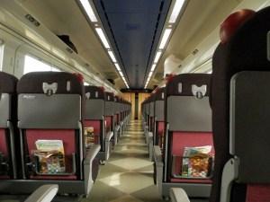 キハ261系スーパーとかちの普通座席