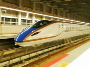 北陸新幹線はくたか号・糸魚川駅