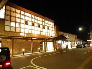 夜の糸魚川駅・日本海口
