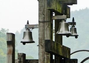 トロッコ保津峡駅の鐘