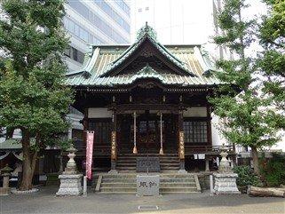 Un petit temple à Shinjuku